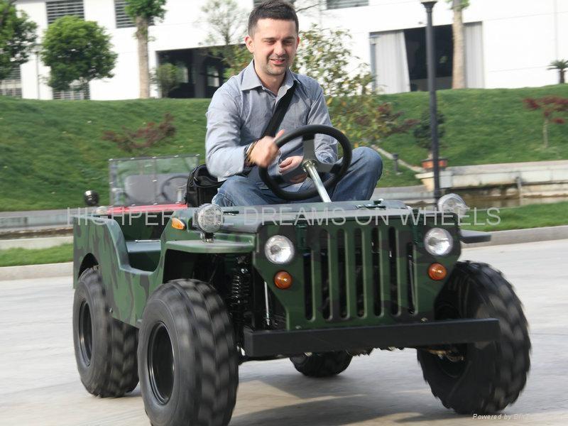 1200W Electric Mini Jeep 1