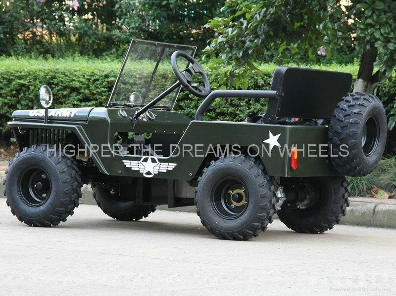 1200W Electric Mini Jeep 2