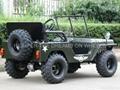 1200W Electric Mini Jeep 3
