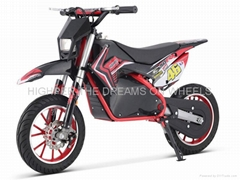500W36V E Dirt Bike with Head Light (HP110E-A)