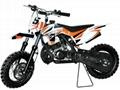 9.0hp Dirt Bike 50cc 2 stroke Kick Start