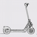 E-scooter Lithium