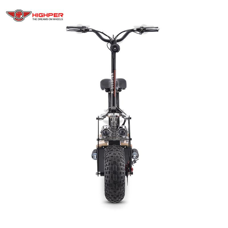 1600W 2000W Off Road Electric Scooter for Adult 2