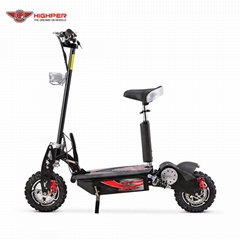 "1000W, 1600W Electric Scooter 12"" Off Road Wheels (HP107E-B)"