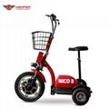 350W36V Electric 3 Wheel Scooter (HP105E-A)