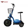 500W48V Electric 3 Wheel Scooter (HP105E-B)