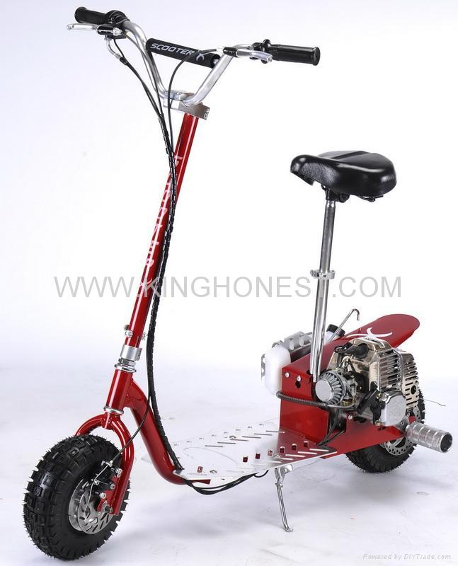 49cc gas scooter gs302 china manufacturer fun bike for Gas powered motorized scooter