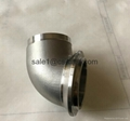 auto exhaust pipe elbow and flanges 1