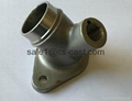 auto exhaust pipe elbow and flanges 3