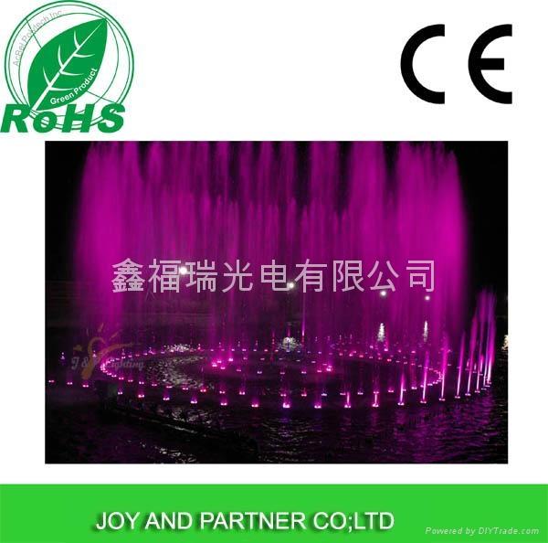 9x3W RGB3in1 LED fountain lamp 4