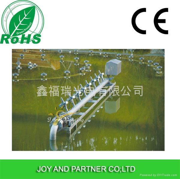 9x3W RGB3in1 LED fountain lamp 5