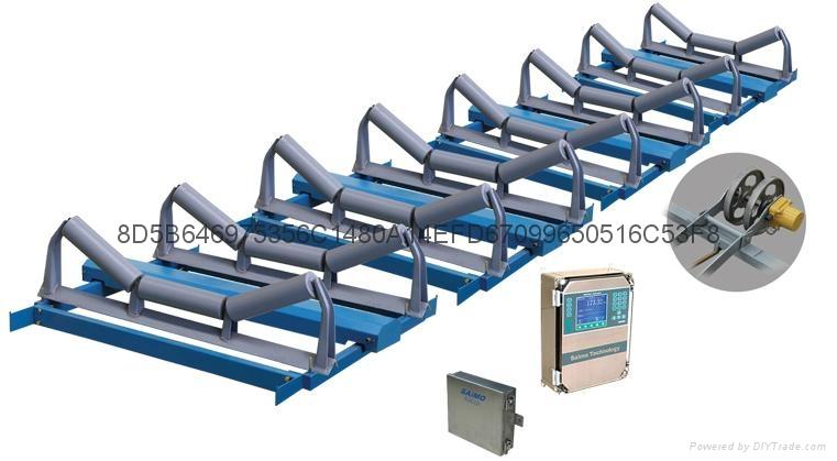 赛摩阵列式ZL高精度电子皮带秤 1