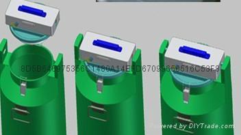供应赛摩带锁样品收集器 4