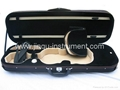 High quality violin canvas oblong case