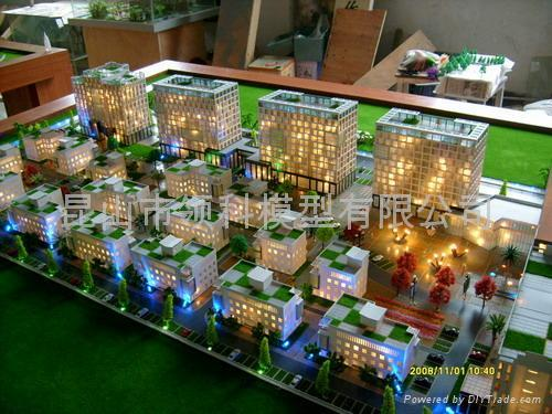 園林景觀模型 3