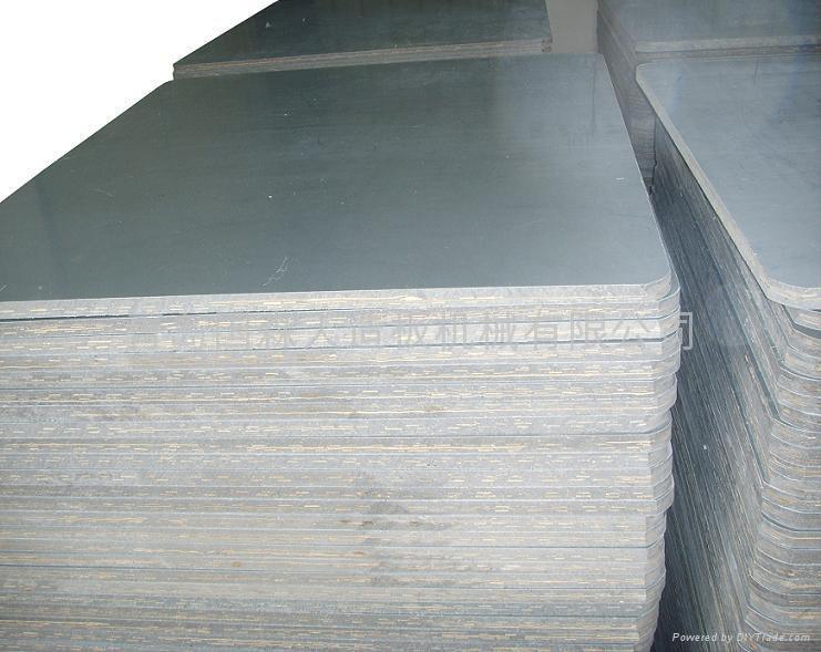 Molded Wood Plastic Board Hot Press Machines 1220 2440
