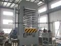 實木板彎曲成形熱壓機設備 2