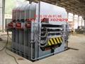 Bamboo floor press machine etc. of