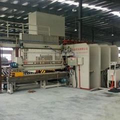 利用速生林木皮单板重组木生产线设备