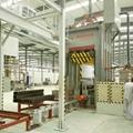 重組竹竹絲板壓機生產設備