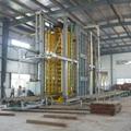 重組竹地板壓機成套加工設備生產