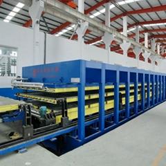 房车及冷藏厢式货车车厢体板生产设备