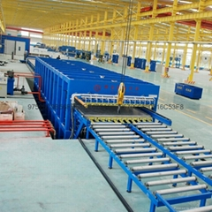 大板方艙廂體復合板生產線工藝設備