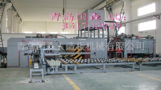 重組竹集成材壓機生產設備 2