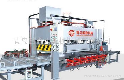 竹材工藝板竹地板熱壓機等成套加工機械 4