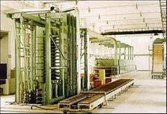 竹膠板熱壓機等成套加工設備