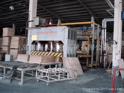 Laminated flooring production machines 1