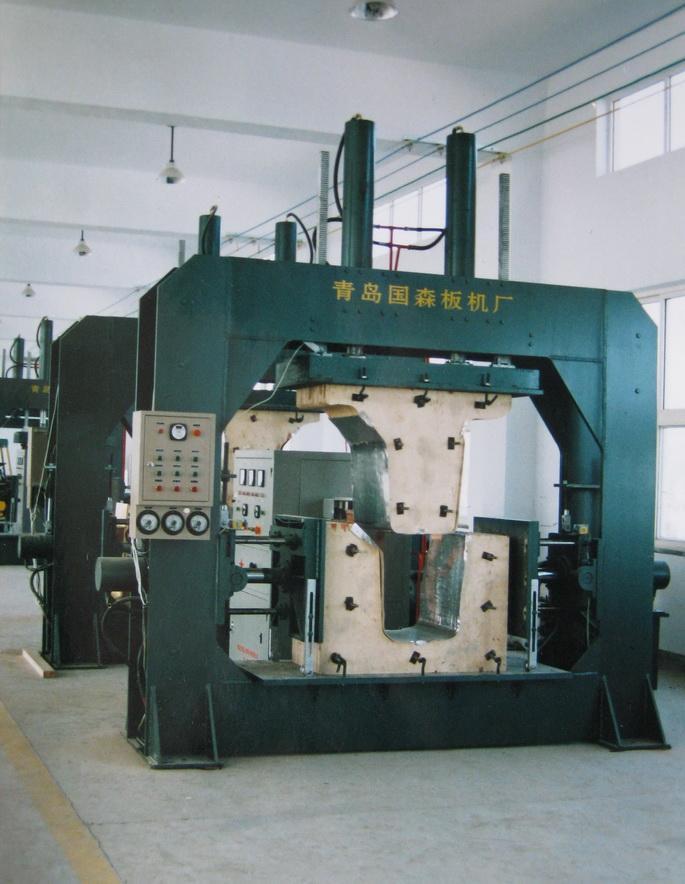 Hf Bending Wood Press Machinery By1400 700 Guosen