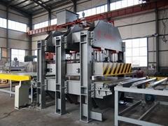 高精度铝蜂窝板压机设备