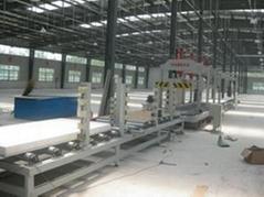 夾芯板牆體保溫板生產線設備