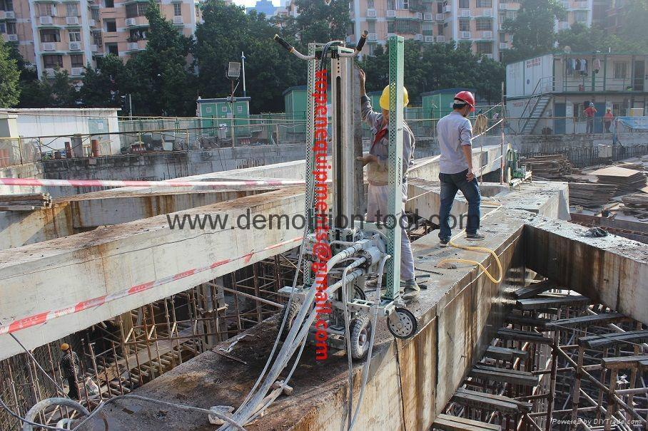 hydraulic wire saw & diamond wire saw wire cutting machine for