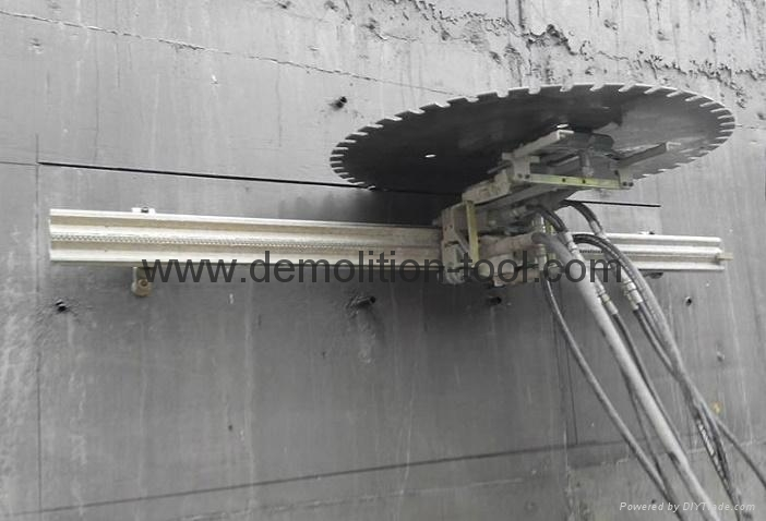 Cement Cutter For The Wall : Concrete wall cutting machine diamond saw hydraulic
