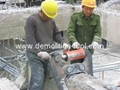 hydraulic concrete crusher & wall