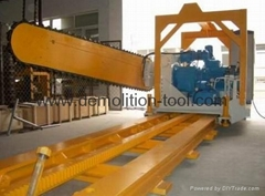 quarry machine:quarry chain saw  block cutter for quarrying stone cutting