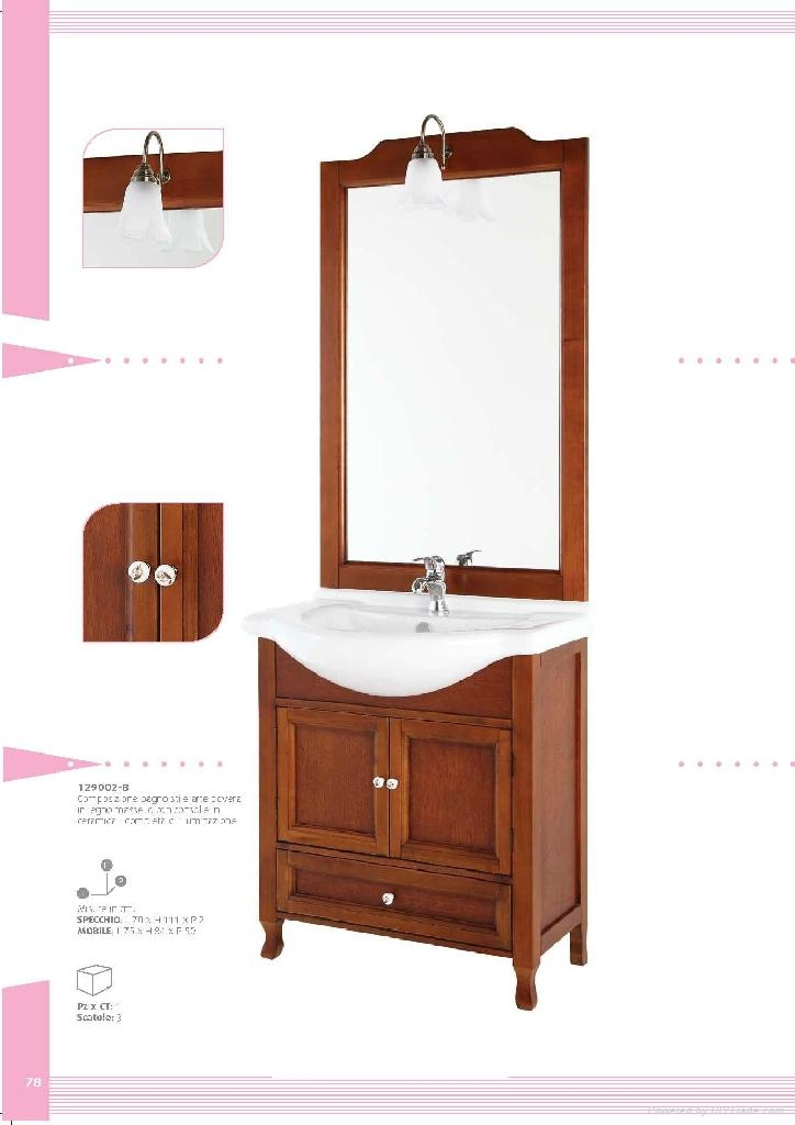Classical Italian Style Bathroom Cabinet 139002 B Eobath China Manufacturer Sink Basin