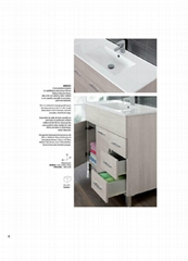 MDF bathroom cabinet