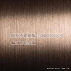 不鏽鋼灰色拉絲板