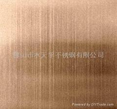 仿古銅抗指紋不鏽鋼鍍銅板