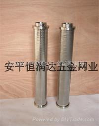 不鏽鋼燒結濾網過濾器 2