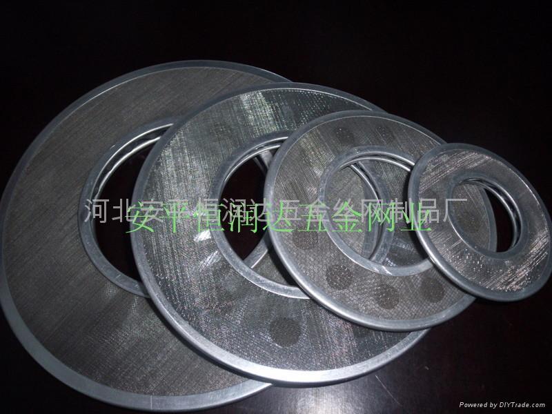 金屬絲網過濾盤 3
