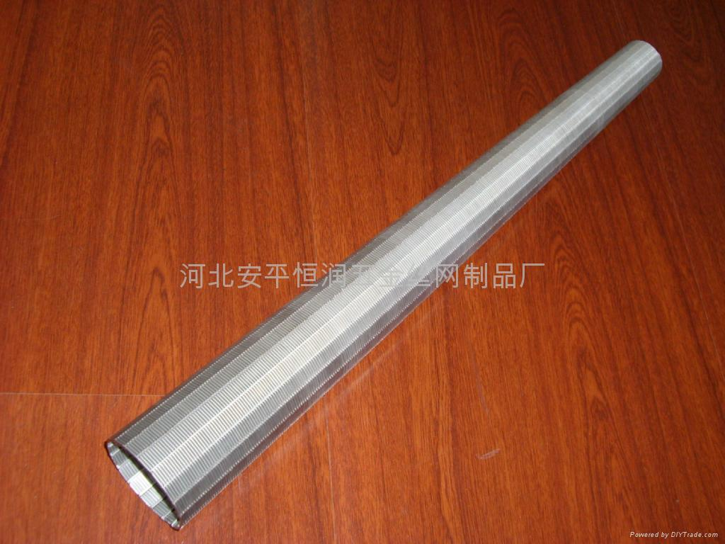 不锈钢梯形丝条缝筛板滤网 2