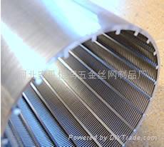 不锈钢梯形丝条缝筛板滤网 4