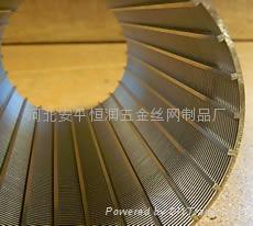 不锈钢梯形丝条缝筛板滤网 5