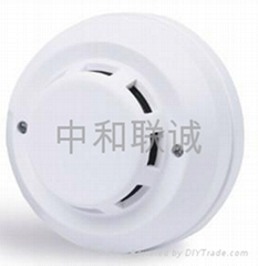 UH 4 wire smoke fire detector with high safety