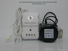 Intelligent home gas detector