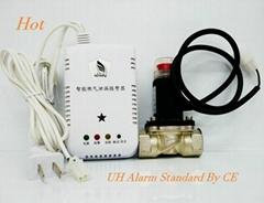 名安家用可燃氣體報警器聯動燃氣電磁閥